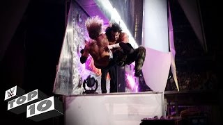 Dangerous Stage Dives: WWE Top 10