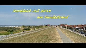 Hundestrand Norddeich Norden 2018