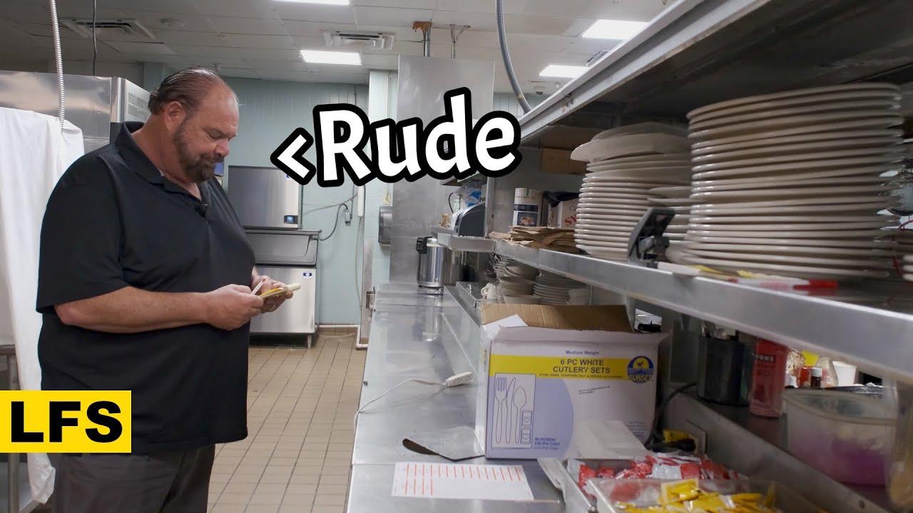 The Rudest Waiter