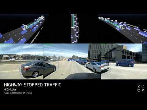 Zoox Fully Autonomous Driving