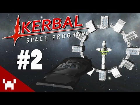 DOCKING THE RANGER (Kerbal Space Program Sandbox w/ Ze - Ep. 2)