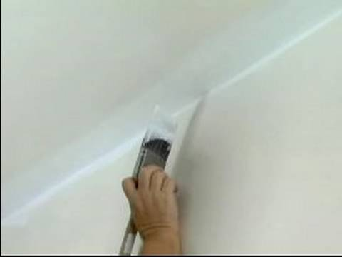 Cutting In Ceiling Paint