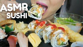 ASMR SUSHI *Lobster Roll, Nigiri Sushi, Sunomono Salad & Tempura