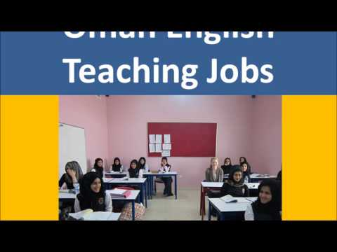 Oman English Teaching Jobs