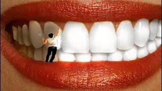 ваши желтые зубы станут белоснежными копеечный способ