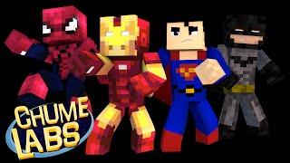 Minecraft: MELHOR SUPER-HERÓI DE TODOS! (Chume Labs 2 #76)