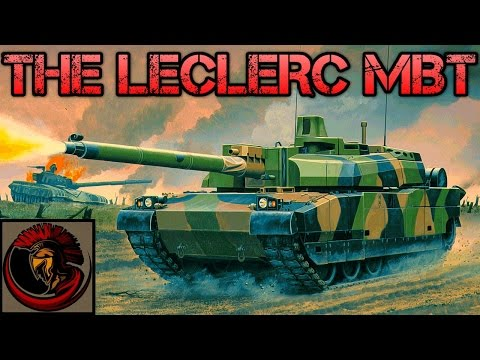 Leclerc Main Battle Tank AMX-56 - Tank Overview