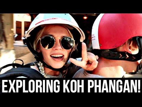 EXPLORING KOH PHANGAN THAILAND!