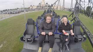 Sabina z zespołu Zouzy próbuje RAPOWAĆ na rollercoasterze - EKSTREMALNE WYWIADY