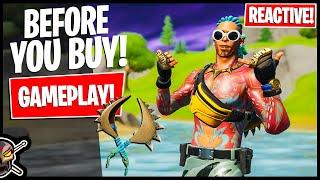 KING KRAB Gameplay! REAĊTIVE TEST! Before You Buy (Fortnite Battle Royale)