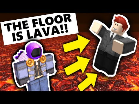 DON'T PLAY THE FLOOR IS LAVA on ROBLOX at 3:00 AM!!