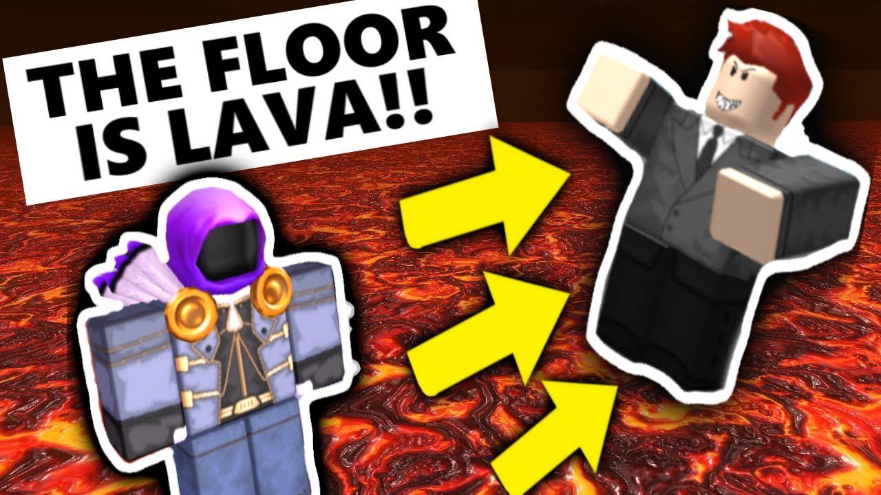 The Floor Lava Roblox Youtube