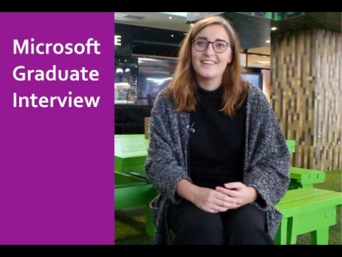 microsoft graduate interview polly cartwright youtube