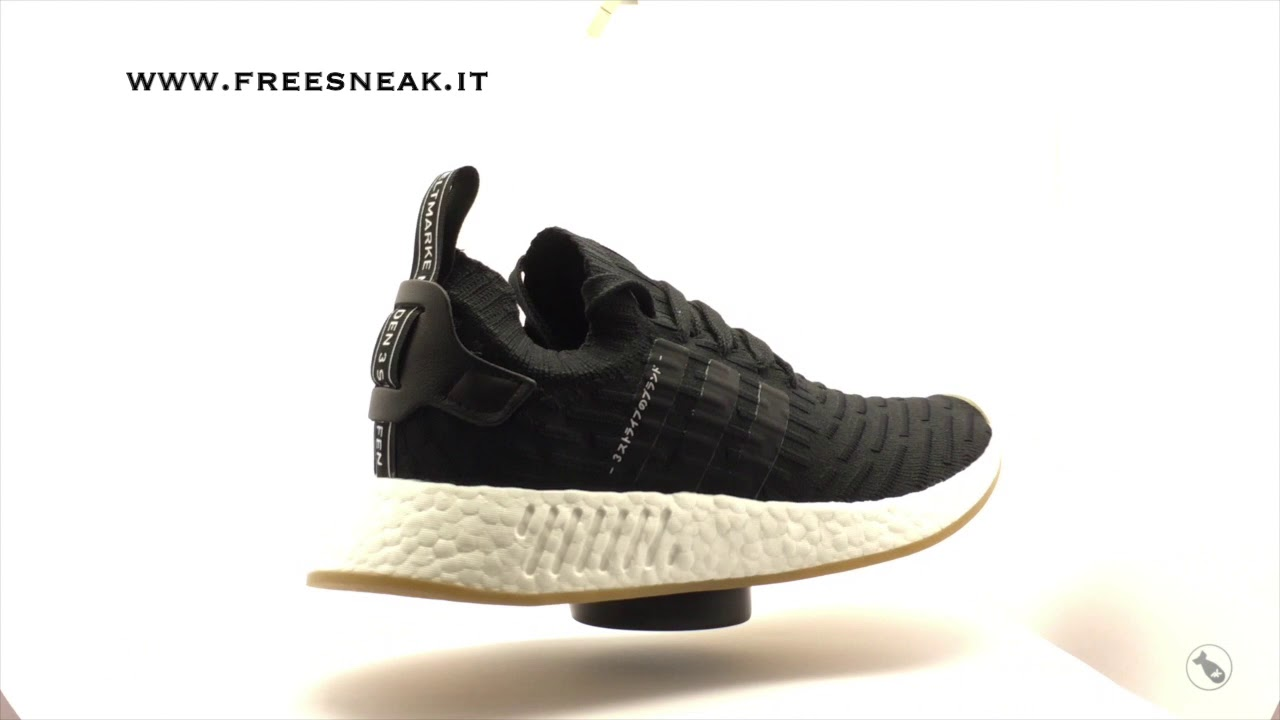 more photos 840aa 8e591 Sneakers 360 Adidas NMD R2 Japan Black BY9696