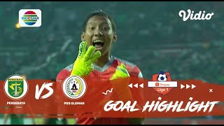 Persebaya (2) vs (3) PSS Sleman - Goal Highlight | Shopee Liga 1