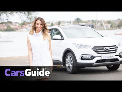 Hyundai Santa Fe Highlander 2017 review family test video