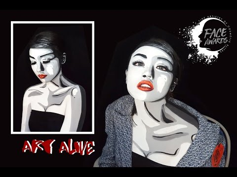 ART ALIVE | TOP 30 NYX FACE AWARDS INDONESIA 2017 | Angelicca Marthin