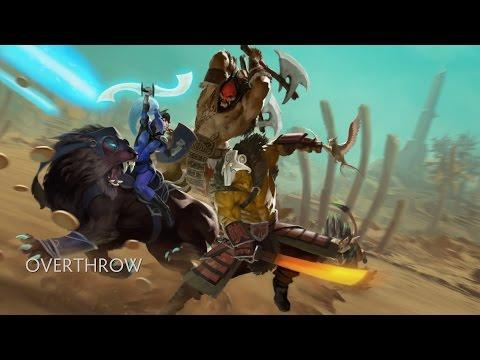 видео: dota 2 - overthrow (пользовательские игры)