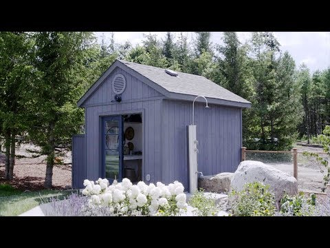 Upcycle an Old Shed Into a Pool House