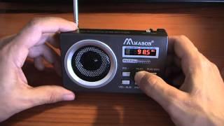 Обзор испытание радиоприёмник mason rm 2777