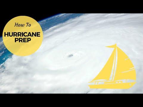 Hurricane Irma - Preparing our sailboat | Sailing Britican #10