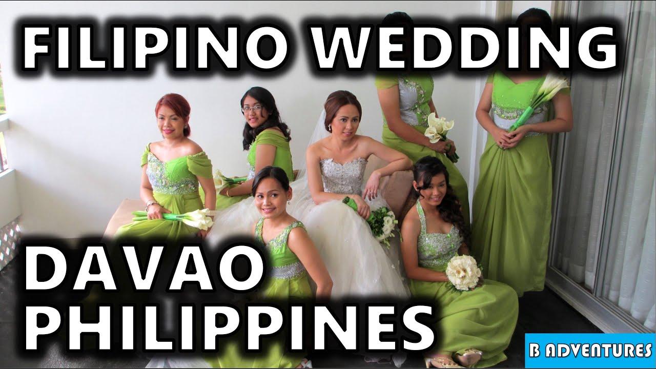 Beautiful Filipino Wedding Davao City Philippines S1 Ep12