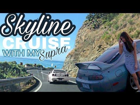 My Supra crashes an insane Skyline cruise!