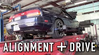 First Drive With The New Suspension: 240SX Restomod Ep. 22