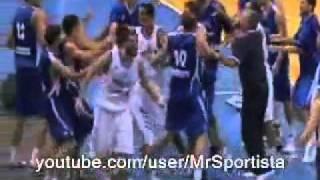 「セルビアvsギリシャ」2010世界バスケ前哨戦大乱闘事件 thumbnail