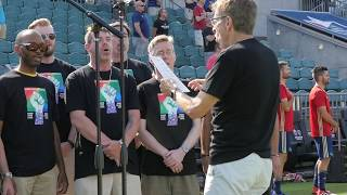 National Anthem - Pride Night 2019