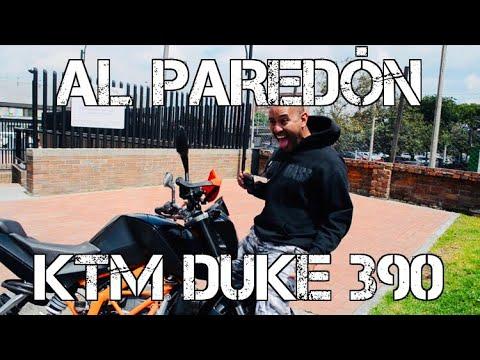 AL PAREDÓN KTM DUKE 390 #FULLGASS