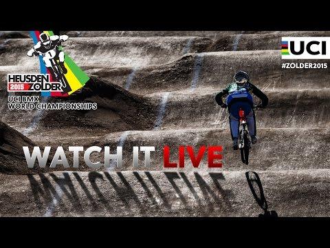 LIVE 2015 BMX World Championships – Heusden-Zolder, Belgium