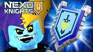 ОБНОВЛЕНИЕ - LEGO Nexo Knights Merlok - Игра про Мультики Лего Нексо Найтс 2017 Видео для Детей