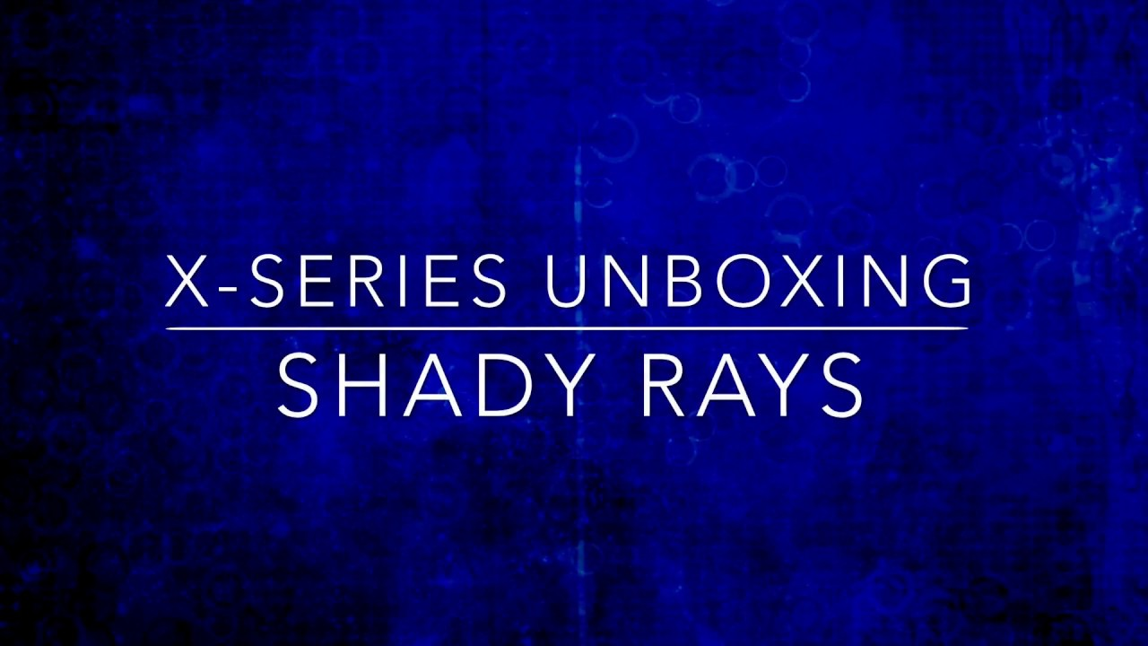 65cf3a93e4 Shady Rays Sunglasses X-series Unboxing - YouTube