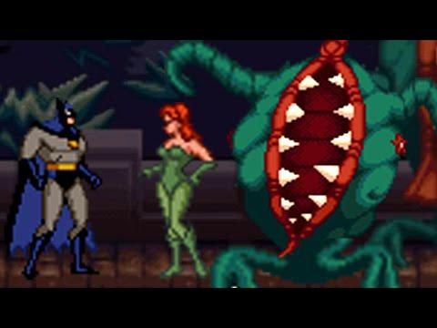 Batman & Robin (SNES) All Bosses (No Damage)