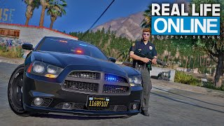 1 TAG ALS FAKE COP! - GTA 5 Real Life Online