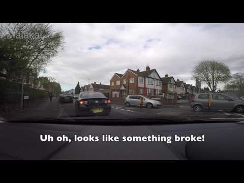 UK bad, idiot drivers and fails caught on dashcam April 2017