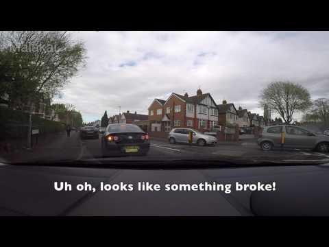 UK bad, idiot drivers and fails caught on dashcam April 2017