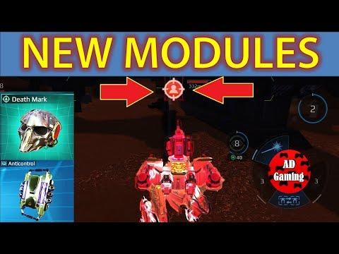 War Robots - New Modules - Anti Lock Down/Suppression And Death Mark Gameplay