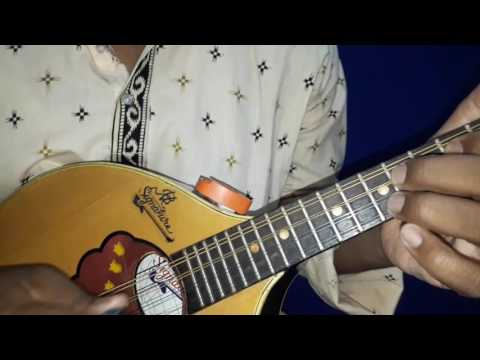 How to practise D scale on Mandolin