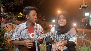 Menua bersamamu - TRI SUAKA | cover ukulele by yp tubs yoga mbotem ft melinda