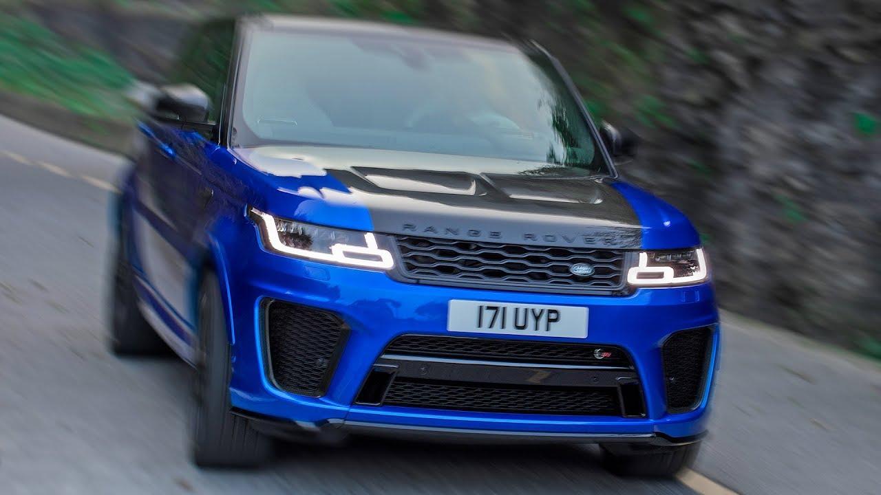 Range Rover Sport SVR (2018) Road Record – Supercar Beater
