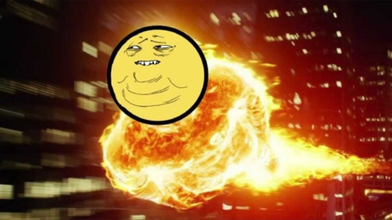 фото горящий пукан