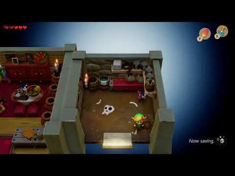 Link S Awakening Secret Seashell Location Mabe Village Dog House