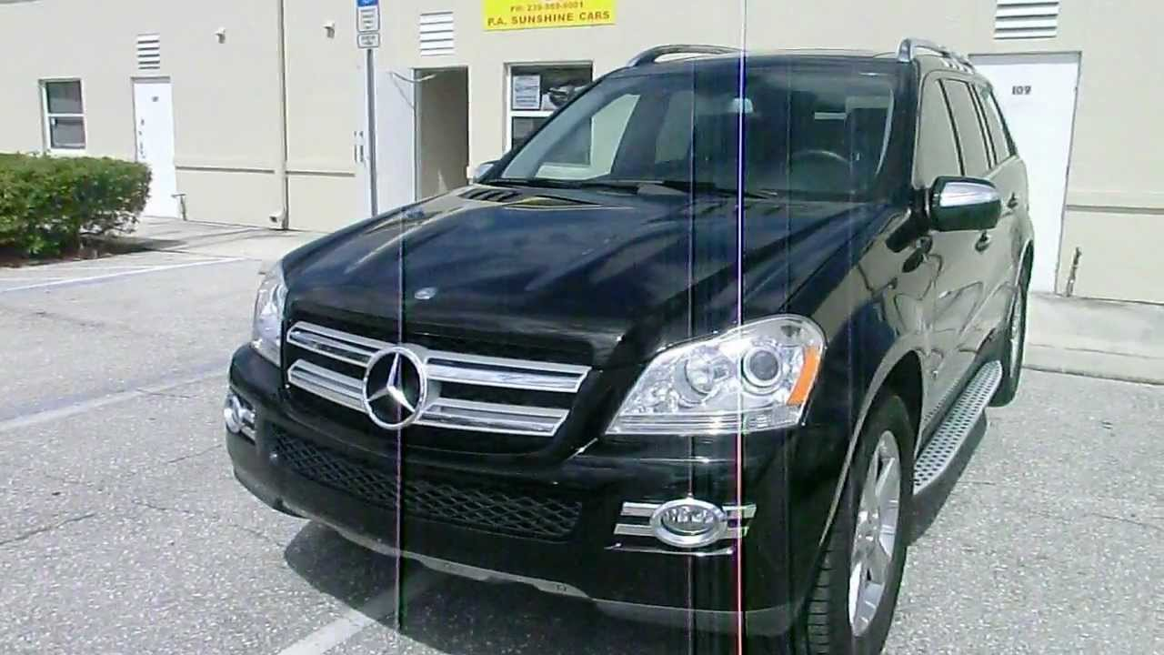 mercedes gl 2009 auto kaufen in usa florida. Black Bedroom Furniture Sets. Home Design Ideas