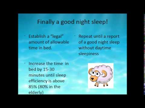 Insomnia For Primary Care