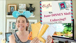 DISNEY Magic Mail from Friends AND DISNEY Pin Unboxing!
