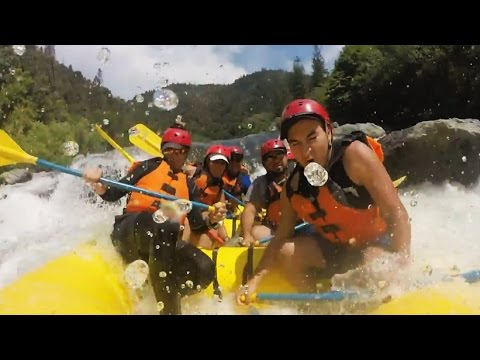 White Water Rafting the American River, Middle Fork, Class 4