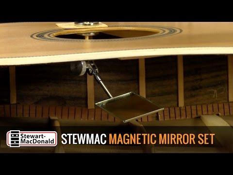 StewMac Magnetic Mirror Set Demo