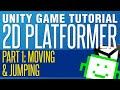 Unity 2D Platformer Tutorial - Part 1 -